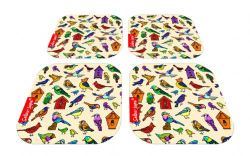 Selina-Jayne Birds Limited Edition Designer Coaster Gift Set